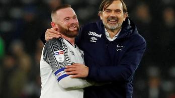 Wayne Rooney lett a Derby County vezetőedzője