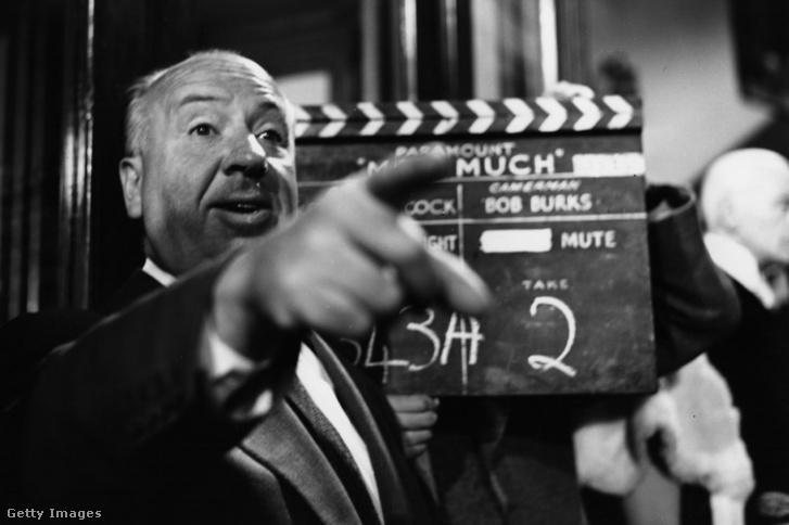 Alfred Hitchcock 1955-ben