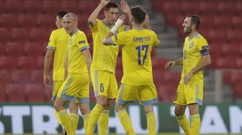 Középkezdésből lőttek gólt a kazahok a Nemzetek Ligájában - videó