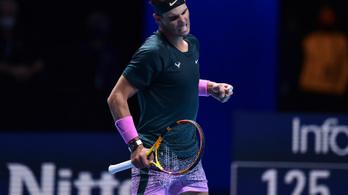 Győzelemmel kezdett Rafa Nadal az ATP-világbajnokságon