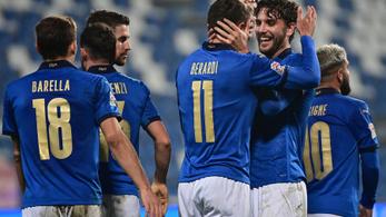 Nyertek és élre álltak az olaszok a Nemzetek Ligájában