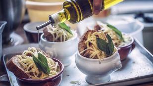 Sülthagyma-leves kecskesajttal – hétköznap és ünnepekkor is bevetheted