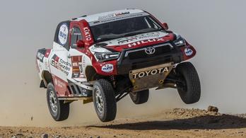 Ezzel megy a Dakarra a Toyota