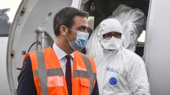Franciaországban már tetőzött a járvány
