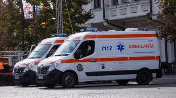 Orvoshiány Romániában, már mobil hullaház működik egy bukaresti kórházban