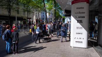 Ezért maradnak nyitva az osztrák plázák a lezárások ellenére