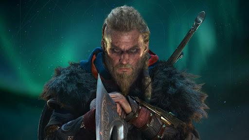 Assassin's Creed Valhalla: a Magnus Bruun által megformált férfi főszereplő (forrás: Ubisoft)