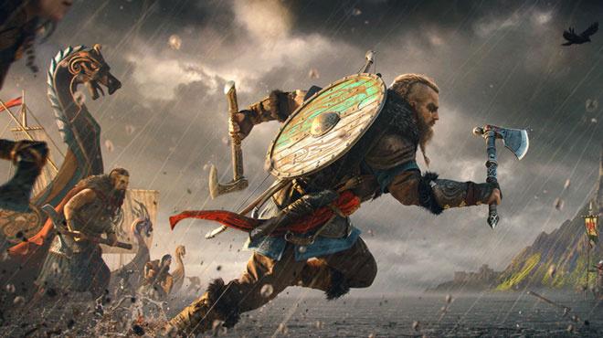 Assassin's Creed Valhalla: ha a vikingekkel megindulunk, lesz nemulass a középkori, angol falvacskáknak (forrás: Ubisoft)
