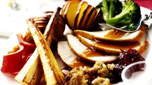 Libamell és libamáj vaníliás sült birssel