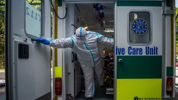 Újabb ötezer fertőzöttje és 91 halottja van a koronavírusnak idehaza