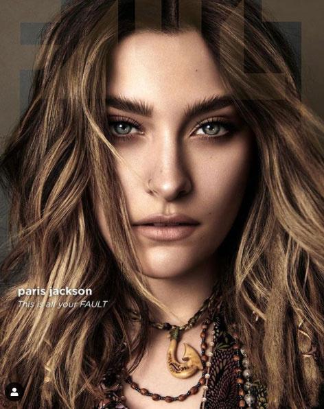 Paris Jackson a Fault Magazine címlapsztárja lett. Gyönyörű szemei vannak.