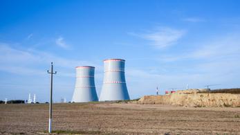 Teljesen leállították a belarusz atomerőmű beüzemelését