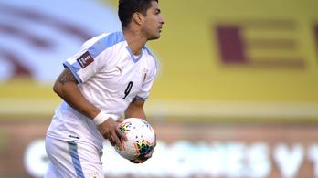 Luis Suárez koronavírusos, nem játszhat a Barcelona ellen