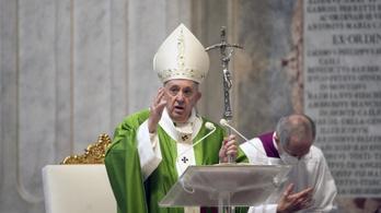 Erotikus fotót lájkolt az Instán Ferenc pápa