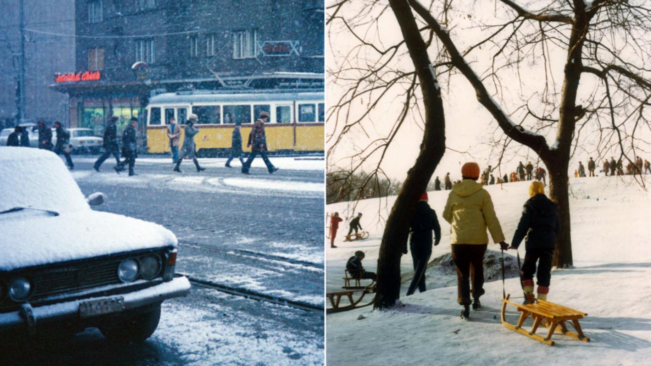 Amikor még Budapesten is nagy havazások voltak: milyenek voltak régen a telek?