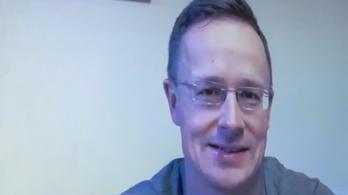 Szijjártó Péter élő videóközvetítésben egyeztetett német vállalatok vezetőivel