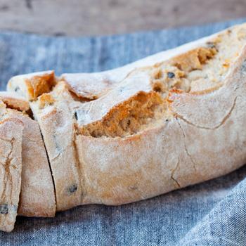 Ropogós héjú, olívás ciabatta – A kenyér belseje levegős és puha lesz
