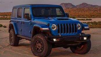 Bemutatták a V8-as Jeep Wranglert