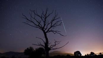 Ma este ér csúcsra a Leonidák meteorraj