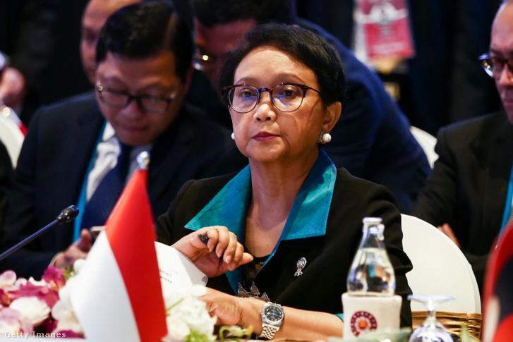 Retno Maesudi indonéz külügyminiszter