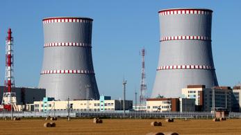 Roszatom: nincs nagy üzemzavar a belarusz atomerőműben