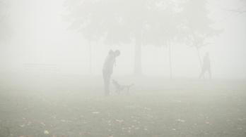 Figyelmeztet az OMSZ: rémes köd ereszkedik az országra