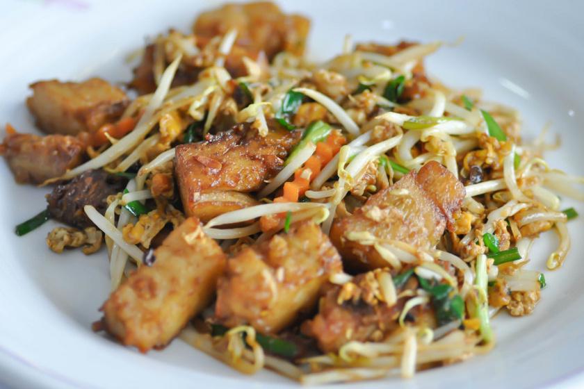 pirított tofu zöldségekkel recept