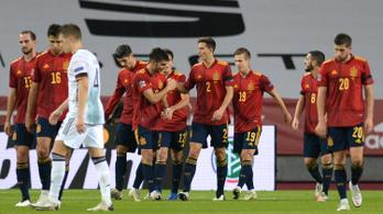 A spanyolok feltörölték a padlót a németekkel a Nemzetek Ligájában