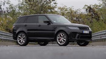 Teszt: Range Rover Sport SVR - 2020