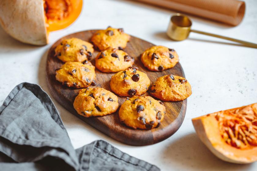 Isteni sütőtökös keksz roppanós csokidarabokkal: amilyen egyszerű, olyan finom
