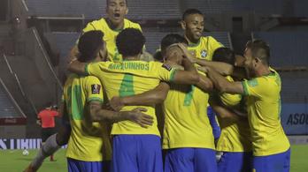 Brazília nyert Uruguayban, Kolumbia nagy zakót kapott