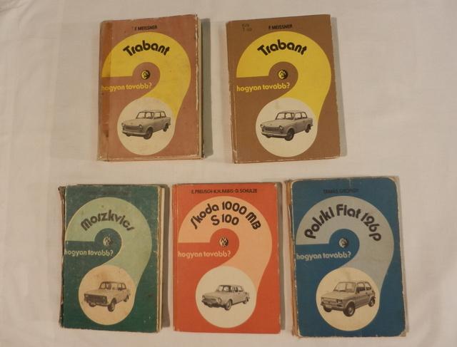 """""""hogyan tovább?"""" sorozat kötelező - Trabantból megvan az első és a második magyar kiadás is"""