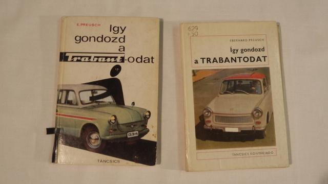 Szintén alapmű. Balról az első magyar kiadás a második német alapján, jobbról a harmadik magyar a kilencedik német kiadás alapján