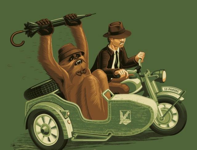 Indiana Jones Chewbacca