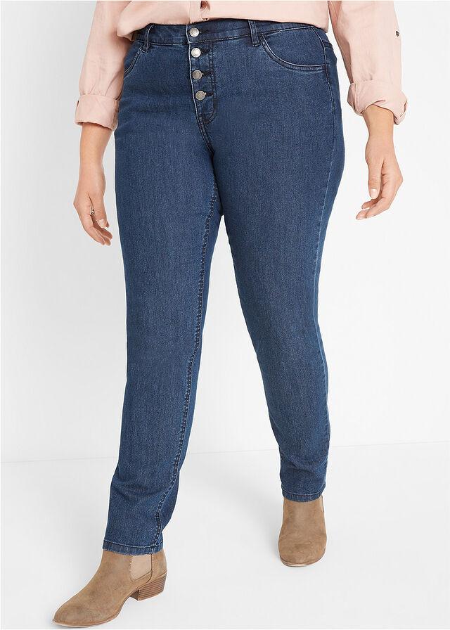 A Bonprix nadrágja a magasított deréknak, valamint a gomboknak köszönhetően karcsúsít, és szépen kiemeli az alakot. 5799 forintért vásárolhatod meg.