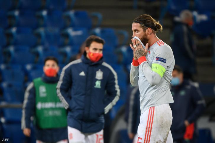 Sergio Ramos megsérült a spanyol válogatottban