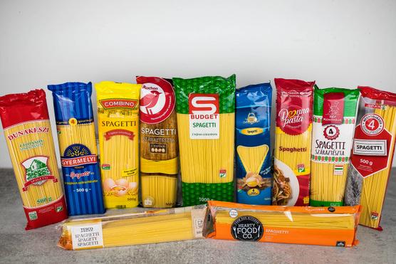 Spagettik tesztje: saját márkás tészták okoztak meglepetést