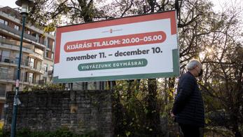 Több mint ötezerszer intézkedtek a magyar rendőrök eddig a kijárási tilalom megsértése miatt