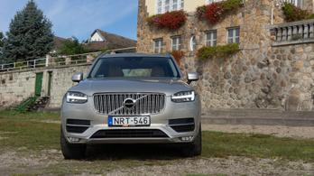 Használtteszt: Volvo XC90 D5 AWD Geartronic, Inscription - 2016.