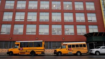 Bezárják az iskolákat New Yorkban