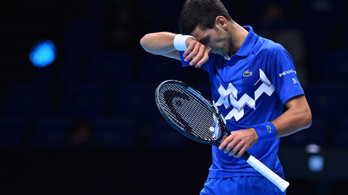 Novak Djokovics kikapott az ATP-világbajnokság 2. fordulójában