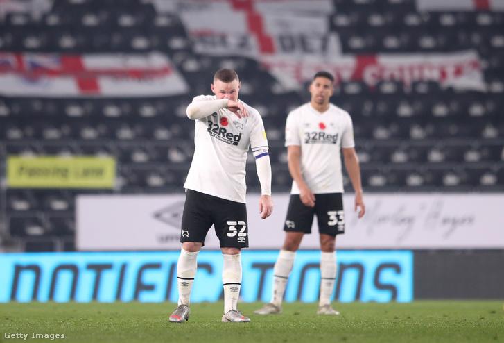 Átmenetileg Wayne Rooney irányítja a Derby County felkészülését