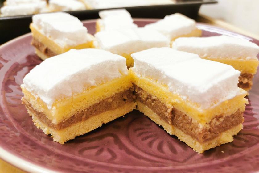 Régi kedvenc a mama receptes füzetéből – A szépséges Kata szelet mindenkit elvarázsol