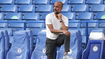 A Manchester City hosszabbított Guardiolával
