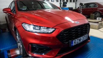 Totalcar Erőmérő: Ford Mondeo Hybrid 2,0