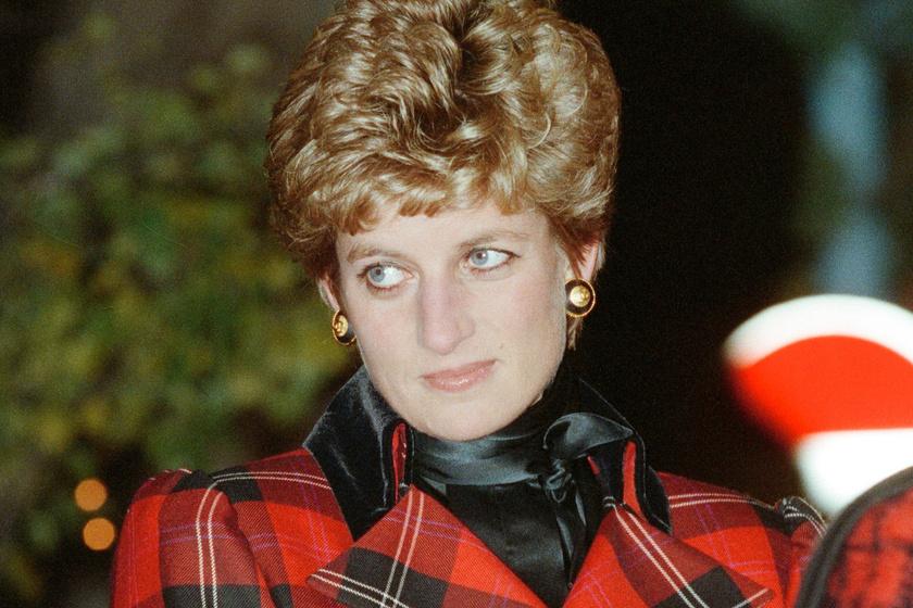 Ez volt Diana utolsó karácsonyi fotója: így mosolygott a feldíszített fa előtt