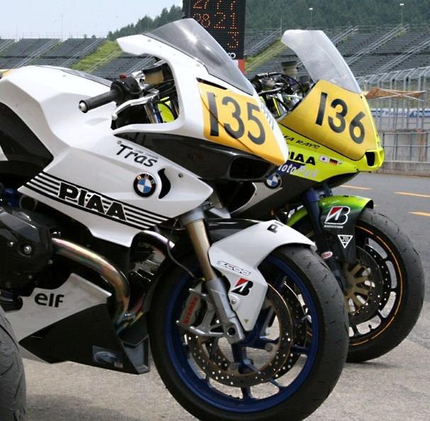 2008, ekkor már a HP2 Sport volt a versenygépük Motegiben, az R 1100 S csak kiállítási tárgy volt