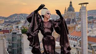 Felvitte a glamúrt a budapesti háztetőkre, már Conchita Wurst és Lilu is gratulált hozzá