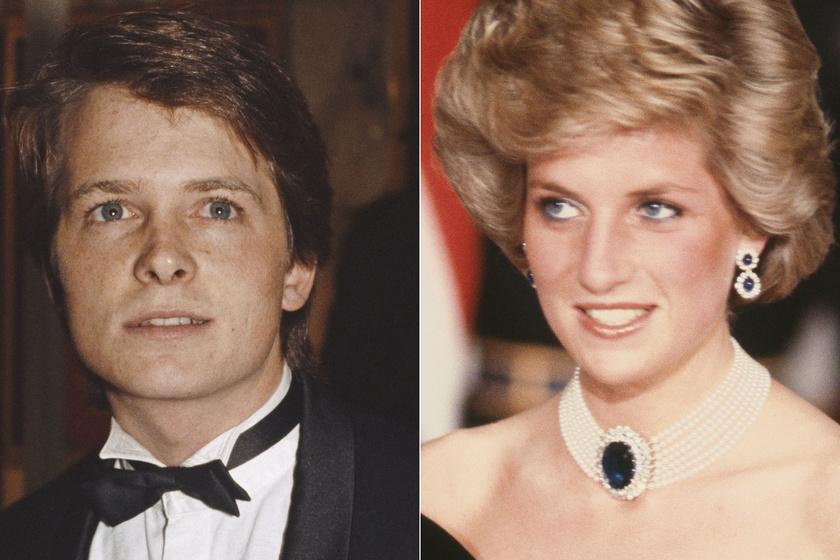 Diana hercegnő társaságában rémálom volt a premier: a Vissza a jövőbe sztárja így emlékezett vissza
