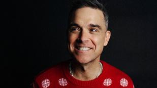 Robbie Williams írt egy vidám karácsonyi dalt a covidról
